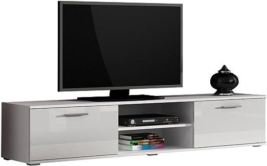 JUSTyou Saho Mueble para TV Mesa televisión salón 180 cm Color ...