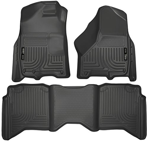 2nd Seat Floor Liners Fits 09-17 Ram 1500 Crew Cab - Weatherbeater (Cab Ram)