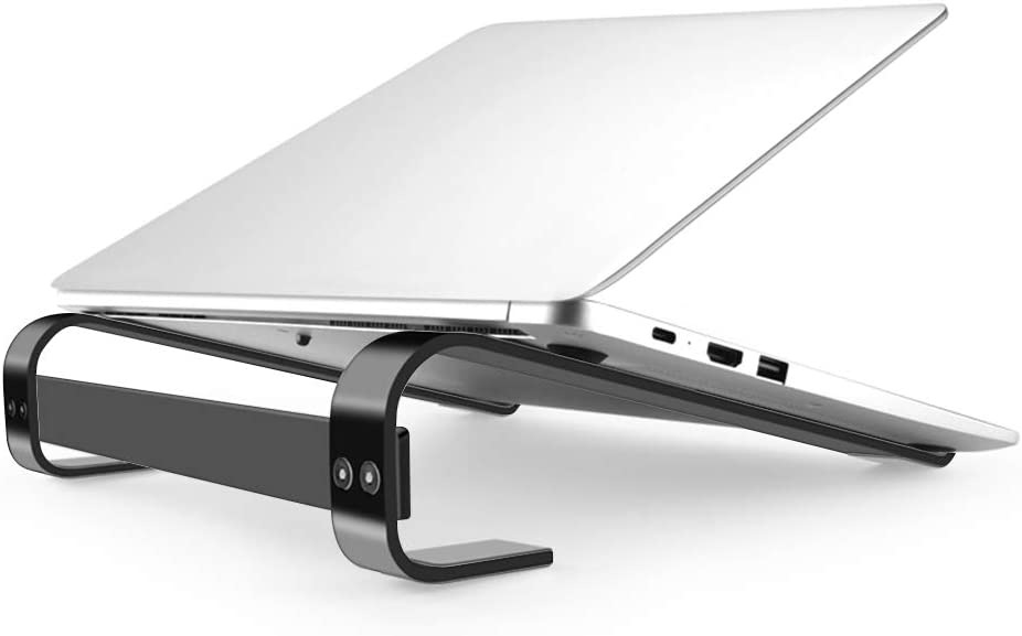 """Laptop Stand for Desk, Laptop Holder,Detachable Laptop Riser Compatible for MacBook, HP Laptop and so on Between 11"""" to 17.3"""" (Black)"""
