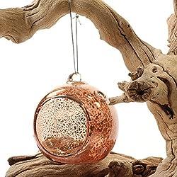 Koyal Wholesale Glass Hanging Tea Light Holder, 6-
