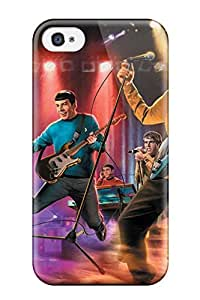 YY-ONE The Star Trek Band Phone Case For Iphone 4/4s/ High Quality Tpu Case by mcsharks