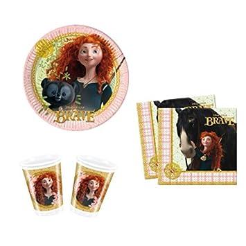 Disney Princess Merida Brave Party Set Geburtstag Deko 8 Kinder