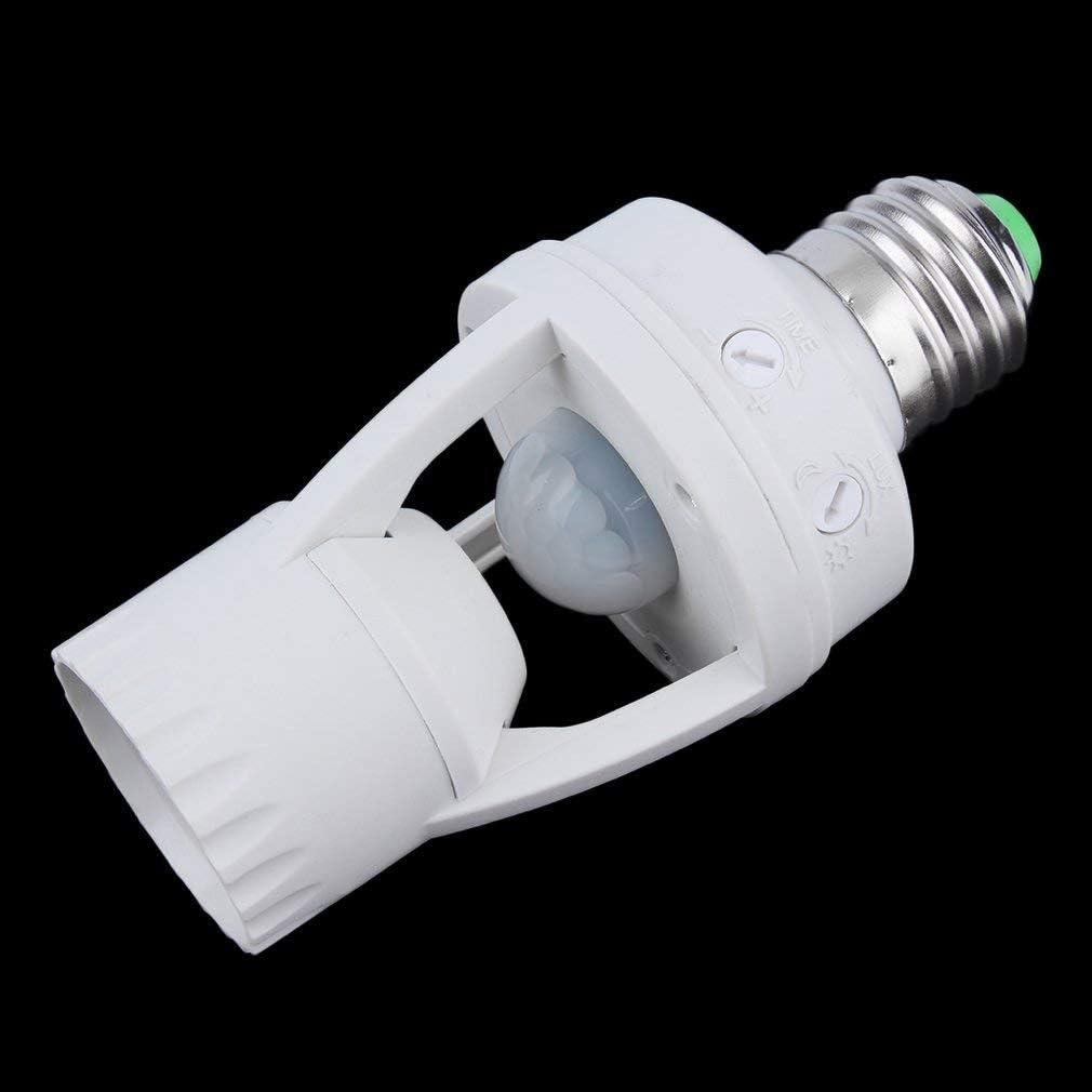 E27 LED Infrared Motion Detection Light Sensor Light Bulb Switch Home