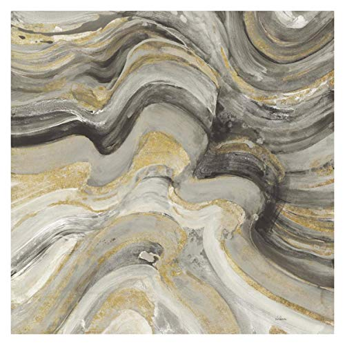 (Global Gallery Albena Hristova 'Floating Lava Neutral' Unframed Giclee on Paper Print 30
