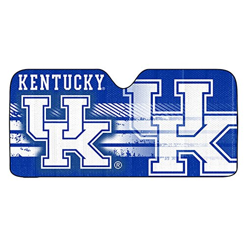 Team ProMark NCAA Kentucky Wildcats Deluxe Universal Fit Auto Windshield Sun Shade