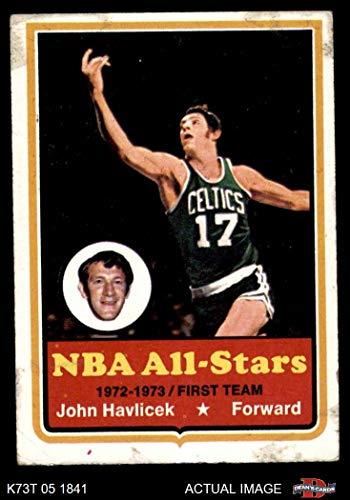 - 1973 Topps # 20 John Havlicek Boston Celtics (Basketball Card) Dean's Cards 2 - GOOD Celtics