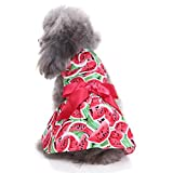 Dog Dress, Howstar Pet Puppy Clothes Sweetie Watermelon Cute Dress...