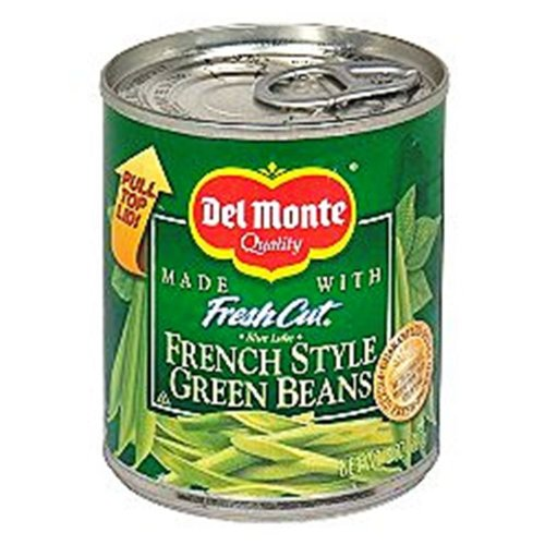 Del Monte French Style Green Beans, 8-Ounce (Pack of 12)