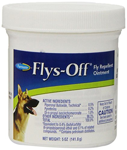 Flys-Off Fly Repellent Ointment, 5 oz (Ointment Fly Swat Repellent)