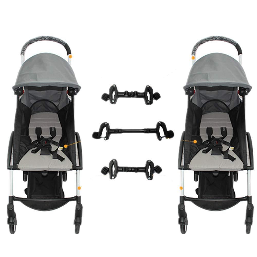 Universal Kinderwagen-Anschl/üsse Verstellbare Kinderwagen-Anschl/üsse f/ür Zwillinge