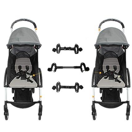 Conectores universales para cochecitos de bebé Conectores para cochecitos ajustables para gemelos