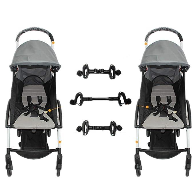 Conectores universales para cochecitos de bebé Conectores para cochecitos ajustables para gemelos: Amazon.es: Bebé