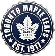 Toronto Maple Leafs Bottle Cap Wall Logo Decoration