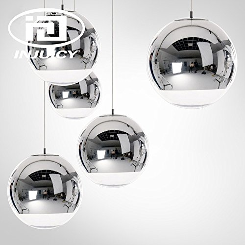 Silver Ball Pendant Light