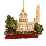 Kurt Adler City Travel Washington DC Ornament, 3.25-Inch