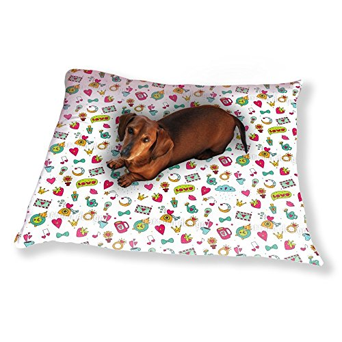 Sweet Little Things Of Love Dog Pillow Luxury Dog / Cat Pet Bed