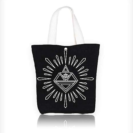 Amazon com: Canvas Beach Bags vector linear hipster logo