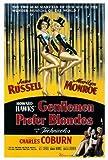Gentlemen Prefer Blondes 27x40 Movie Poster (1953)