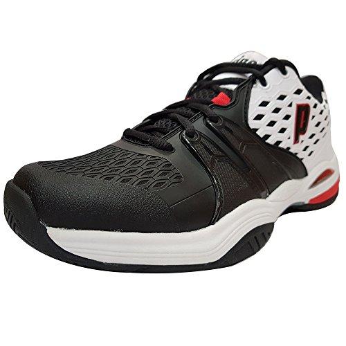 noir Pour rouge Tennis Homme Blanc Warrior De Prince Chaussures nZxAa