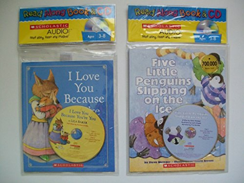 Read Along CD Kits (Set of 2) I Love You Because; Five Little Penguins Slipping