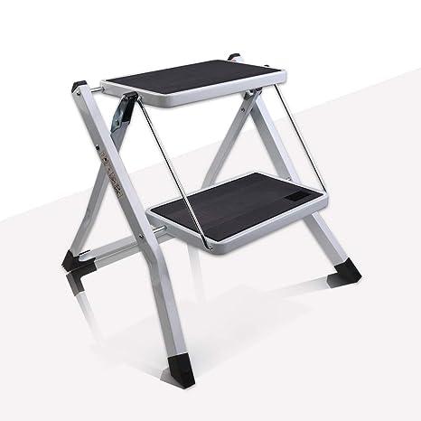 Cool Vi Co Folding 2 Step Stool With Handgrip And Anti Slip Platform Portable Lightweight Step Ladder 300 Lbs Capacity Lamtechconsult Wood Chair Design Ideas Lamtechconsultcom