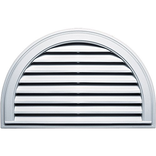 Builders Edge 120023422001 Vent, White
