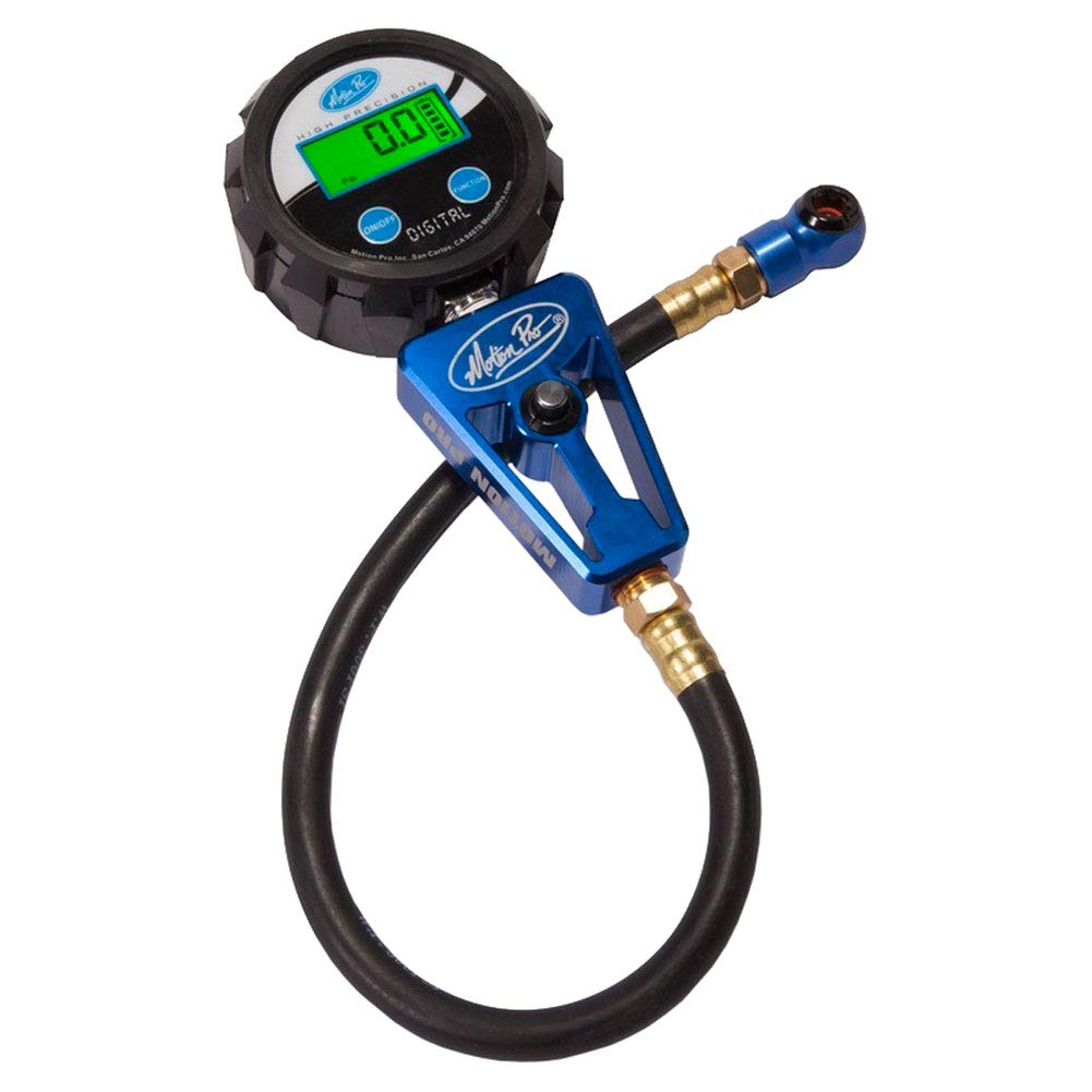 Motion Pro Digital Tire Pressure Gauge 0-60 Psi by Motion Pro