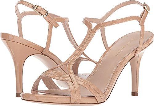 (Stuart Weitzman Women's Sunny Heeled Sandal, Adobe Aniline, 7.5 Medium US )
