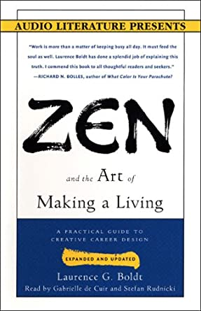Amazoncom Zen And The Art Of Making A Living A Practical Guide To