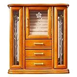 Mele & Co. Richmond Wooden Jewelry Box (Walnut Finish)