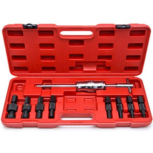 Bearing Puller Kit : Biltek blind hole pc slide hammer pilot bearing puller