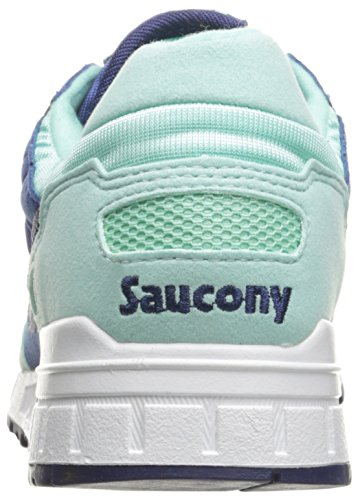 Saucony Originelen Womens Shadow 5000 Fashion Sneaker Blauw / Magenta