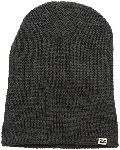 Billabong Men's Livingstone Beanie, Black Heather, One Size