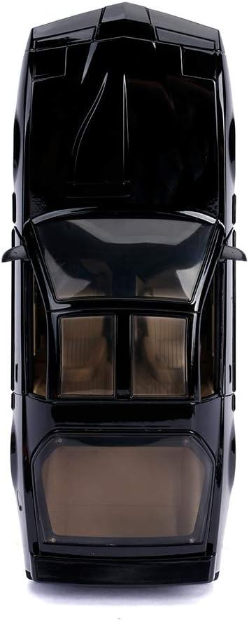 Kit Voiture Fantastique m/étal 1:24 avec lumi/ères de Collection Couleur Noir Jada 253255000