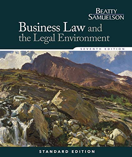 Pdf Law Business Law and the Legal Environment