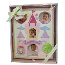 Disney Baby Girl Pink Milestone Picture Frame Shower Gift by Disney