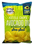 Good Health Kettle Style Avacodo Oil Potato Chips with Sea Salt, 5 oz