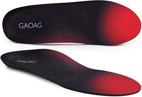 Plantar Fasciitis Feet Insoles Arch Supports Orthotics Inserts Relieve Flat F...