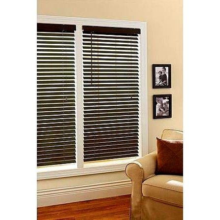 Better Homes and Gardens 2-Inch Faux Wood Window Blinds, ()