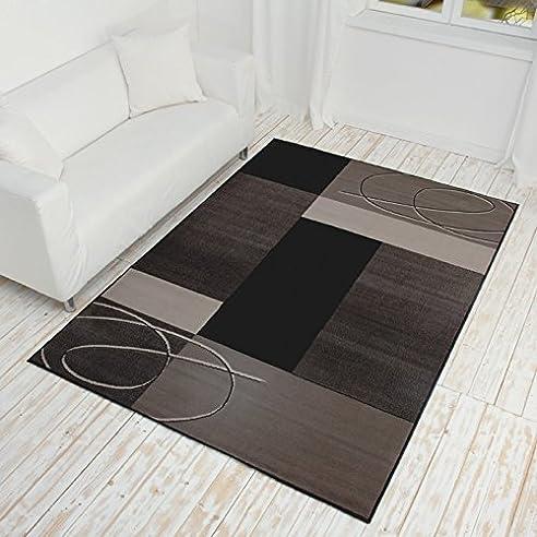 Teppich Kurzflor Grau- Verschiedene Maße Erhältlich: Amazon.De