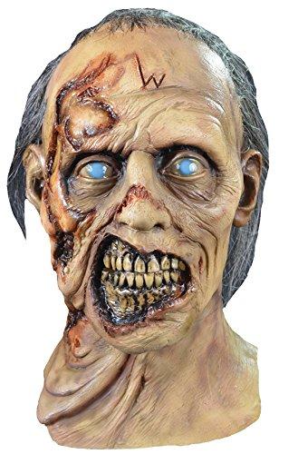 Loftus International Walking Dead Zombie Mask Adult Costume Accessory Novelty Item ()