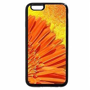 iPhone 6S / iPhone 6 Case (Black) GERBERA ALARANJADA