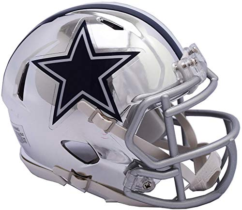 Riddell Dallas Cowboys Chrome Alternate Speed Mini Football