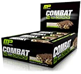 "Combat Crunch baked protein bars are made using a proprietary baking process for superior taste and a softer texture. The bars are high protein, with low active carbs and tons of fiber. Unlike hard-paste, ""taffy-like"" sports bars, Combat Crunch is li..."