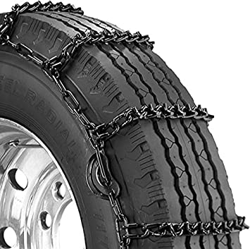 Security Chain Company QG2221 Quik Grip Type LSH Light Truck Traction Chain Set of 2