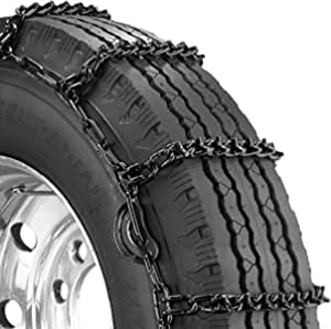 Security Chain Company QG2828CAM Quik Grip V-Bar Light Truck CAM LRS Tire Traction Chain - Set of 2