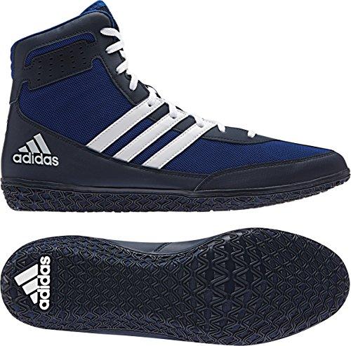 Adidas Mat Wizard.3 Lucha Zapatos, Colegiado Borgoña / negro / oro, 4 M con nosotros Royal/White/Navy