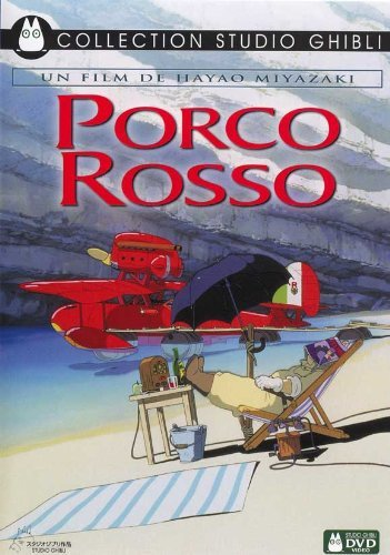 Porco Rosso POSTER Movie (27 x 40 Inches - 69cm x 102cm) (1992) (French Style A)