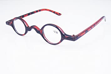 Designer Cute Small round Oval Vintage Clear Reading Glasses Eyeglasses  (+1.50 3f57990dd195