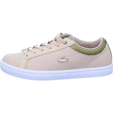 a3a5dbcd97 Lacoste Basket Mode Straightset - 735CAW0064NG9: Amazon.fr: Chaussures et  Sacs